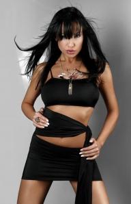 Черное платье Doris black